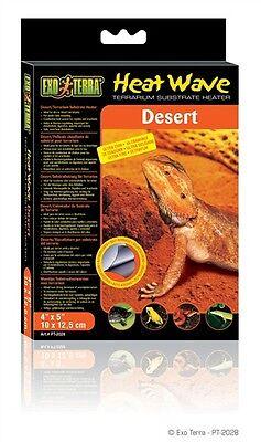 - Exo Terra Heatwave Terrarium Substrate Reptile Heater Desert  4-Watt Extra Small