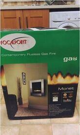 Focalpoint contemporary flueless gas fire