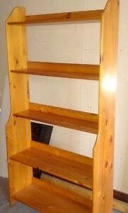 Pine Display Bookcase