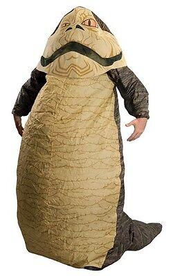 Jabba The Hutt Costume Adult Star Wars Inflatable - Star Wars Jabba The Hutt Kostüm