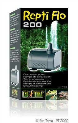 Exo Terra Replacement - Exo Terra Repti Flo 200 Circulation Pump Replacement Small Med Large Waterfall