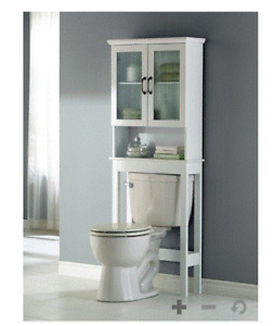 Bathroom space-savers (2) for sale (above toilet)