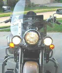 Custom World Driving Light kit for Kawasaki Vulcan