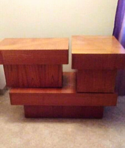 End tables/coffee table