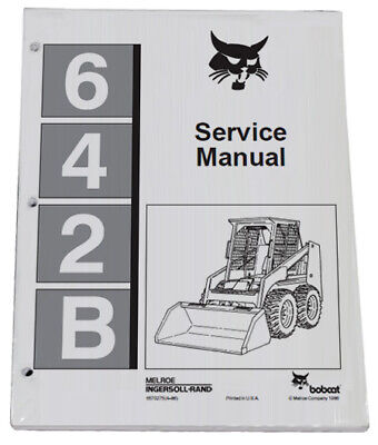 Bobcat 642b Skid Steer Loader Service Manual Shop Repair Book Part 6570275