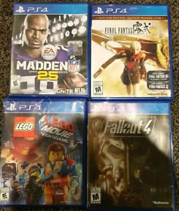 Ps4. Plus 5 games and controller
