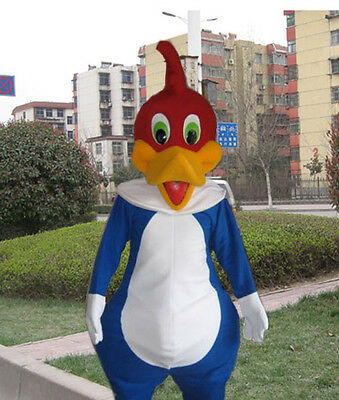 Woody Woodpecker Mascot Costume For Christmas/Festival free shipping Wholesale  - Woody Costume For Adults