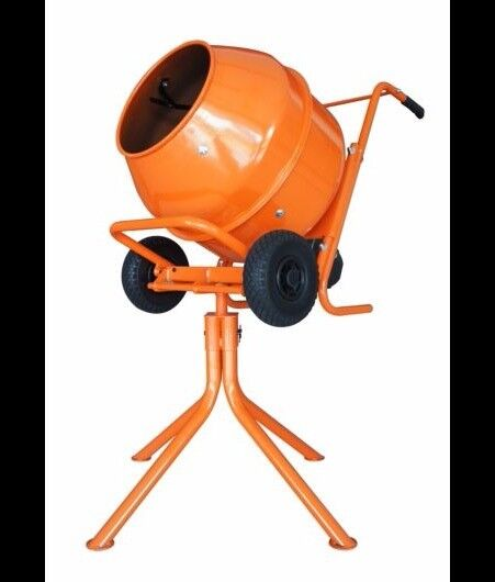 CEMENT MIXER 134L BUILD BUDDY CORDED 370W 230V ELECTRIC
