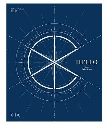 HELLO Chapter 1. HELLO, STRANGER by CIX 1st EP Album  [Stranger Ver.] Blue
