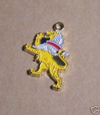 Medieval Lion Symbol (Medieval Heraldry Lion Symbol Knight Arms Rampant COA Pendant Charm Fob)