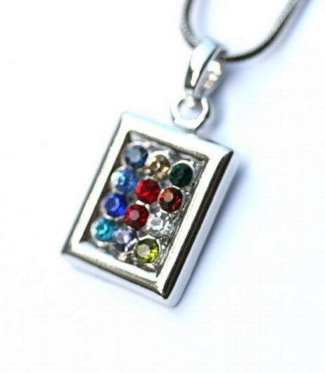 Hoshen Stones Necklace 12 Tribes Israel Bible Choshen Gems Priestly Breastplate