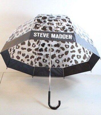 Steve Madden Clear Bubble Umbrella in Cheetah Print (LOC 41-D)