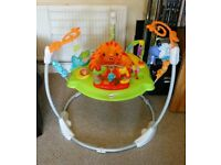 "Fisher-Price ""Roaring Rainforest"" jumperoo"