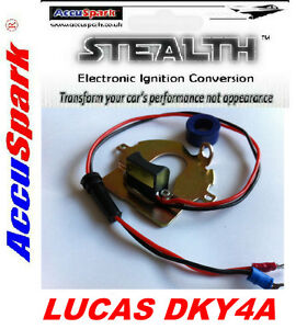 1947-1953-MG-TD-TC-Lucas-DKY4A-Distributor-AccuSpark-electronic-conversion-kit