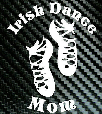 IRISH DANCE MOM Car Decal Vinyl Sticker Dancer Dancing for sale  Buffalo