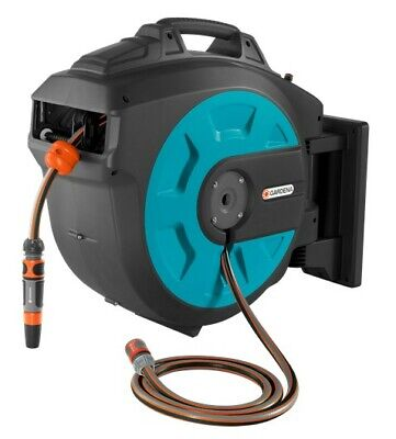 GARDENA 8023-20 25M Automatic Roll-up Wall-Mounted Hose Reel