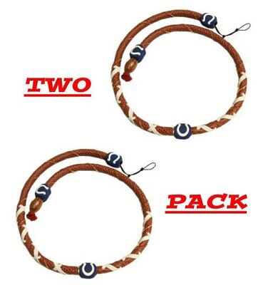 - NFL Classic Spiral Football Necklace Indianapolis Colts 2 Pack NWT