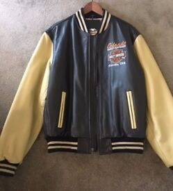 Leather Harley Davidson Jacket - Size L - Brand New with Tags