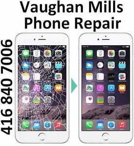 VAUGHAN MILLS STORE - iPHONE SCREEN REPAIR - ANY MODEL