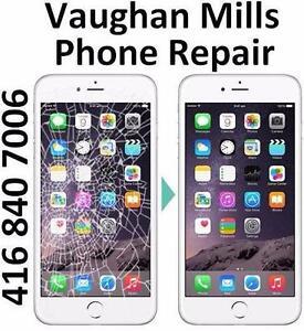 VAUGHAN MILLS STORE - iPHONE SCREEN REPAIR - ANY MODEL