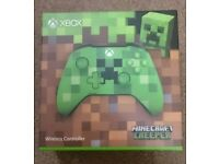 Official Xbox One Minecraft Creeper Controller - New