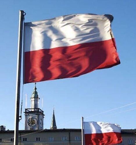 EURO 2020 2021 Flag of Poland Polish Polska 150cm x 90cm SPEEDY DELIVERY