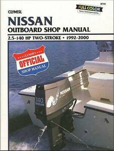 Nissan 2.5 - 140 HP Two-Stroke Outboards 1992 -  Repair Manual Blacktown Blacktown Area Preview
