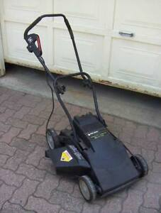 BLACK AND DECKER CORDLESS MOWER--NOT RUNNING (VGC)