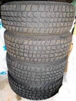 4 Winter Tires with rims 185/65/R14
