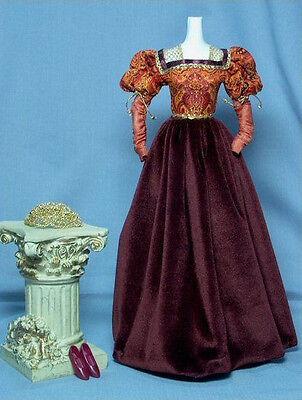OOP Barbie Juliet Renaissance dress with shoes clothes fits Silkstone deboxed CE