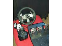Logitech G27 Steering Wheel PC / PlayStation