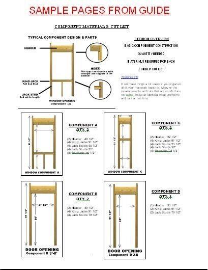 16X24 Cabin Plans with Loft