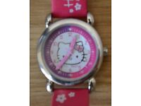 Girl's Hello Kitty Watch For Sale