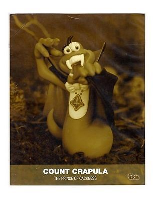 The Turds Movie Still - COUNT CRAPULA - Brand NEW SEALED PACK LIMITED EDITION 2