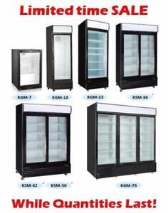 Commercial Glass Door Coolers Overstock Clear Out