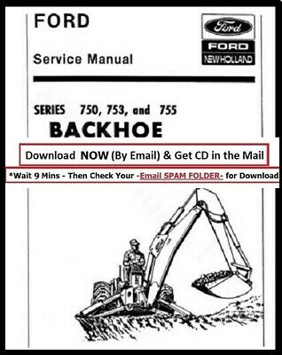 Ford Industrial Series 750 753 And 755 Backhoe - Assembly Maintenance Manual