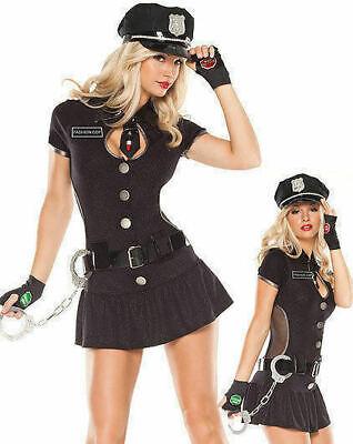 Coquette M6132 5 PC. Fashion Police Women Halloween Costume Cosplay Last M/L USA - Fashion Police Halloween Costume