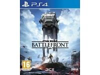 Star Wars: Battlefront (PS4) willing to swap for black opps 3 or racing game for (PS4)