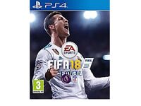 Brand new still in packaging Fifa 18 PS4