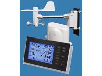 Alecto Professioneel Wireless Weather Station with Wind/Rain meter