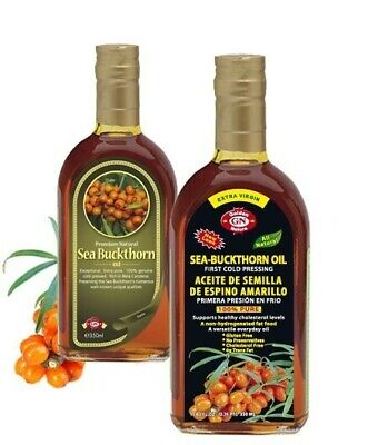 Sea Buckthorn Oil 100% Pure Extra Virgin Cold Pressed 100ml
