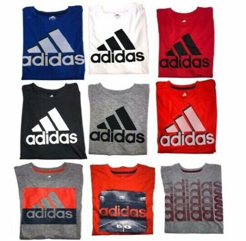NWT Boys Adidas T-shirts with Logo or Graphic