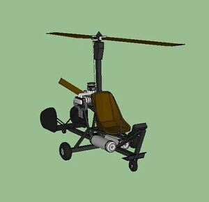 3-Homebuilt-Gyrocopter-Autogyro-Helicopter-Plans-DIY-construction-CD