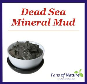 Dead Sea Mineral Mud Clay: Face & Body Mask, Anti-Aging, Acne, Eczema, Psoriasis