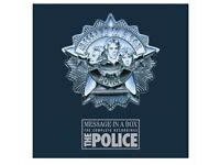 The Police - 'Message in a Box' - the complete recordings deluxe edition - 4 dvds and stunning book