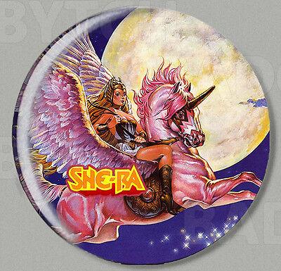 SHE-RA ROUND FRIDGE MAGNET - CLASSIC 80's COOL!