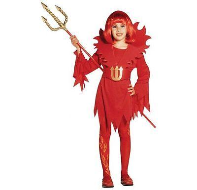 Teufelin ** Kinderkostüm Fasching kleiner Teufel 128 140 158 Devilin für - Kleiner Teufel Kostüm Kinder