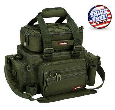 BEST Tackle Bag Large Fishing Box Storage Shoulder Backpack Waterproof,