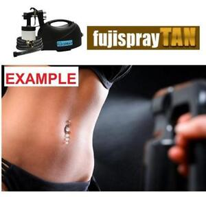 NEW* HVLPTAN FUJI SPRAY TAN SYSTEM 3400 231235327