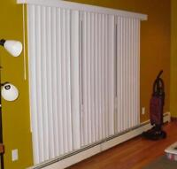 White Vertical Blinds for Sale